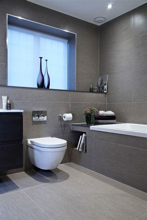 Modern Gray Bathrooms by Best 25 Grey White Bathrooms Ideas On