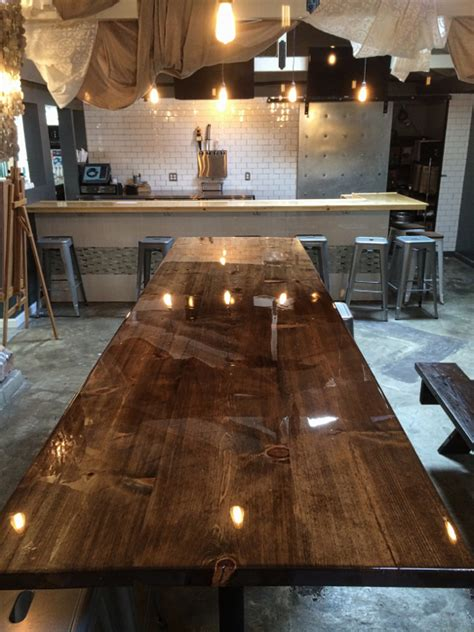 bar top finish epoxy bar top epoxy customer testimonials