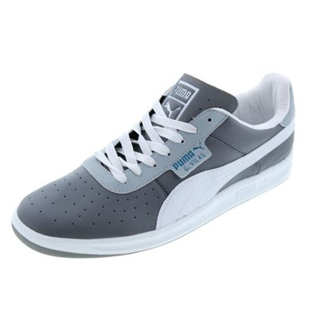 new g vilas l2 gray leather ecoortholite tennis