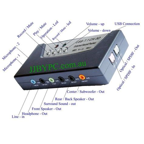 K04 Usb 71 Channel Sound Card Usb External Adapter Portable M usb 2 0 digital 7 1 8ch 3d surround sound card with
