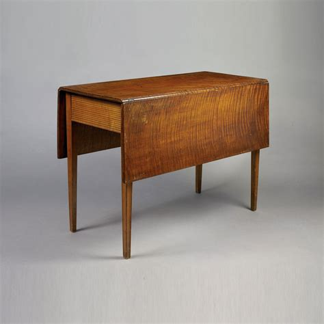 Antique drop leaf table use and style