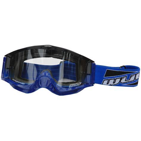 Kacamata Sport Goggles Motor Cross Blue wulfsport shade anti fog motocross enduro road helmet