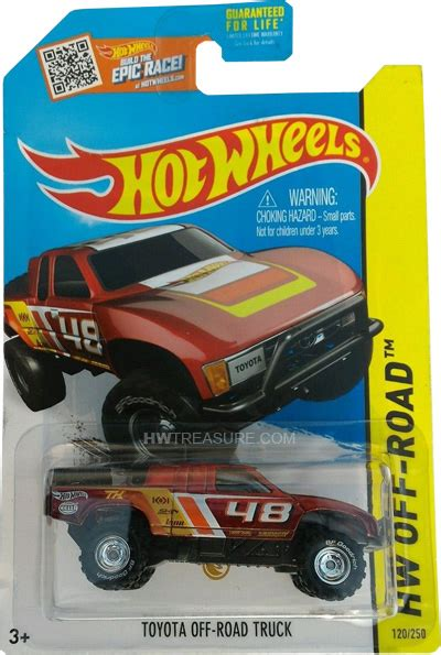 Hotwheels Toyota Road Truck 2 toyota road truck wheels 2015 treasure hunt