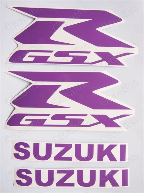 Suzuki Tank Decals Suzuki Gsxr Fairing Decals Stickers 600 750 1000 1100 Tank