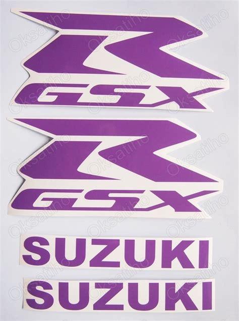 Suzuki Gsxr 1000 Decals Suzuki Gsxr Fairing Decals Stickers 600 750 1000 1100 Tank