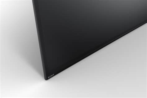 Speaker Xbr 8 sony gets in the oled tv with xbr a1e flagship ecoustics