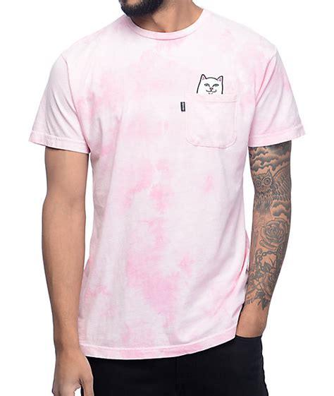 Tshirt Ripndip ripndip lord nermal pink pocket t shirt at zumiez