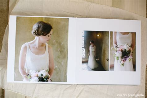 Simple Wedding Album Layout by Wu Photography 187 San Francisco Wedding Photographer