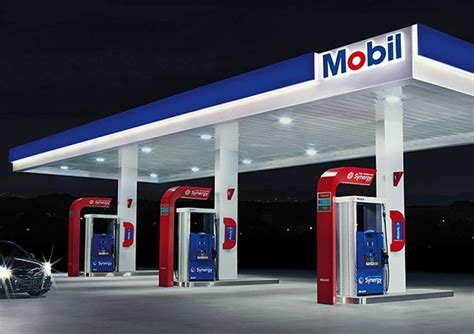 exxon and mobil gasoline diesel fuel gas stations and exxon and mobil