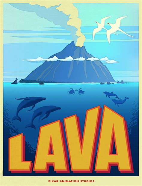 full version of short film lava lava an animated short film by disney pixar about a