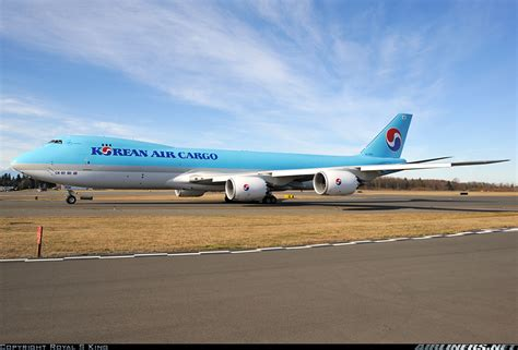boeing 747 8htf scd korean air cargo aviation photo 2061368 airliners net