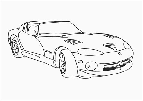 Sports Car Coloring Pages Sports Cars Sports Car Coloring Pages Printable