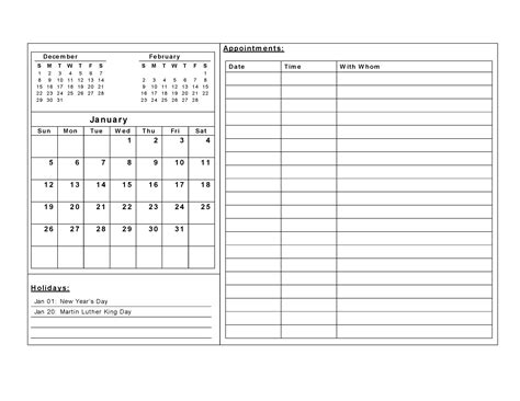 free printable calendar template free printable calendar templates activity shelter