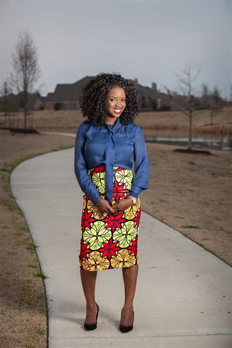how to make the most of your ankara pencil midi skirt