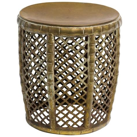 solid brass garden stool for sale at 1stdibs