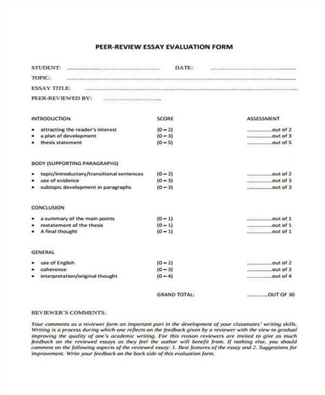 how to write a evaluation paper 28 evaluation essay sle how to write a self