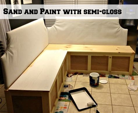 how to make a banquette bench remodelaholic build a custom corner banquette bench