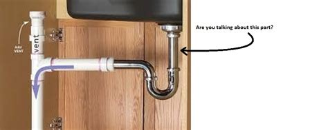 Kitchen Sink Drain Pipe by Kitchen Sink Drain Plumbing