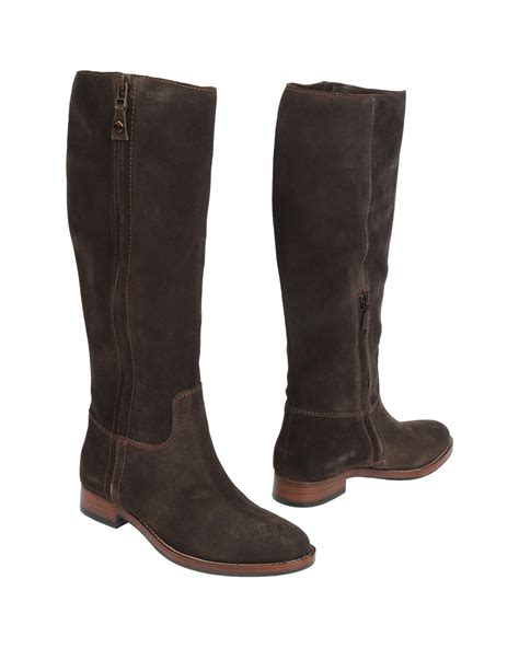 geox boots for geox boots in brown lyst