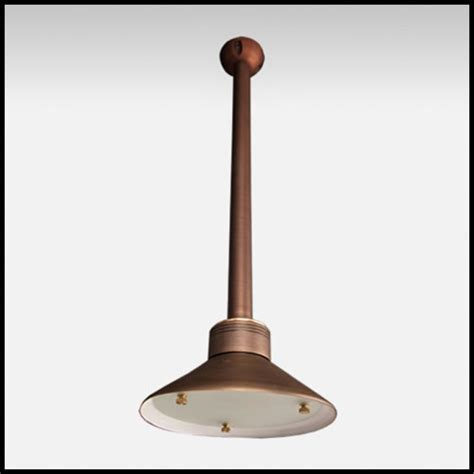 envoy low voltage ceiling mounted light weathered brass