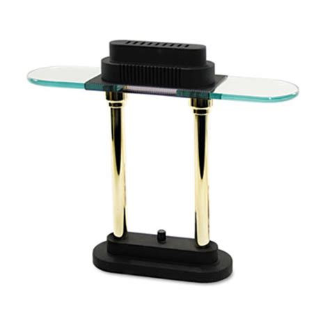 Halogen Table L Halogen Desk L Glass Shade 15 Quot High Black Base Ledu L9074 Ledl9074 Led L9074 Ls Room