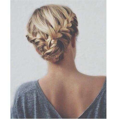 casual updos pinterest double braid updo casual beauty pinterest casual