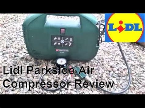 lidl parkside air compressor review