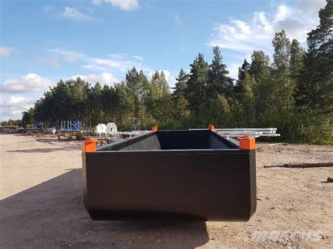 pontoon uk finnboom pontoons proomu hibious excavators price