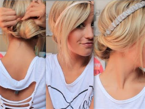 cute hairstyles second day hair second day no heat hairstyles youtube