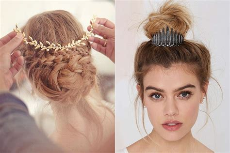 medium hair styles with barettes 10 embellishments and hair accessories for hair buns that