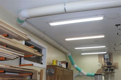 dust collection ducting for woodworking simplifying dust collection for your woodworking power tools