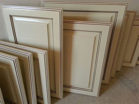 Antique White Glazed Cabinet Doors Recent Work Great Glazing White Kitchen Cabinets