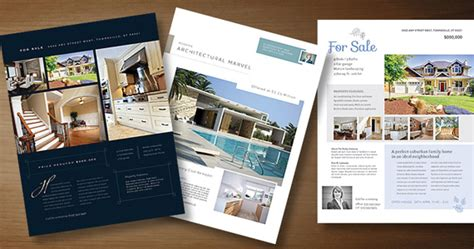 real estate marketing flyers templates business marketing 171 graphic design ideas inspiration
