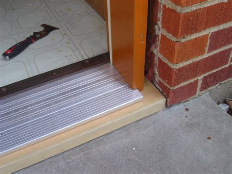 Install Exterior Door Threshold Door Threschholds 20 Methods To Make Your Door Stronger And Energy Efficient Interior