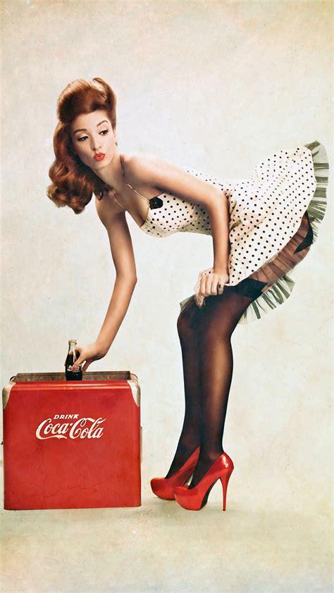 wallpaper asus t001 drink coca cola girl