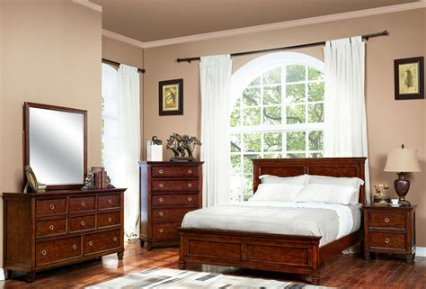 tamarack brown cherry youth panel bedroom set   classic coleman furniture