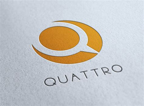 quattro q letter logo template on inspirationde