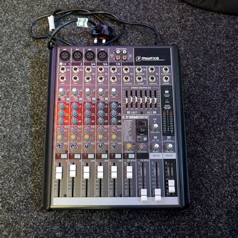 Mixer Mackie Second mackie pro fx 8 2nd rich tone