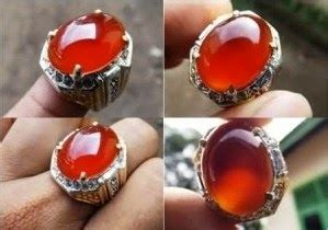 Batu Akik Tomat Merah 038 batu akik keladen pacitan batu akik