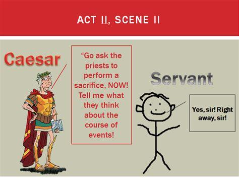 theme of julius caesar act 2 scene 2 julius caesar prereading notes caesar act ii scenes ii