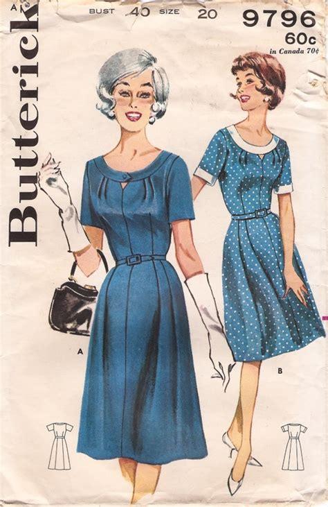 butterick 9796 vintage sewing patterns fandom powered