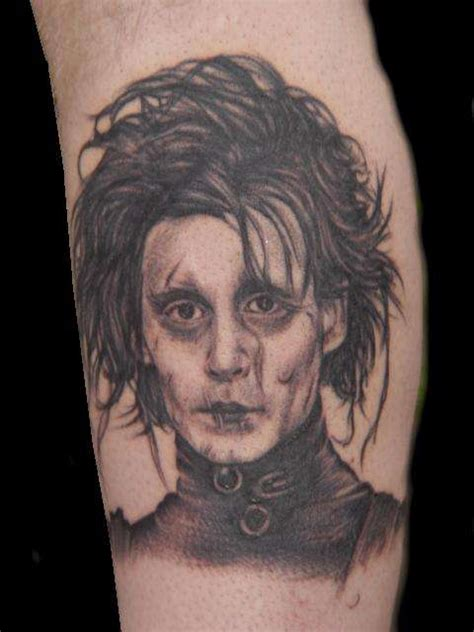 edward scissorhands tattoo edward scissorhands