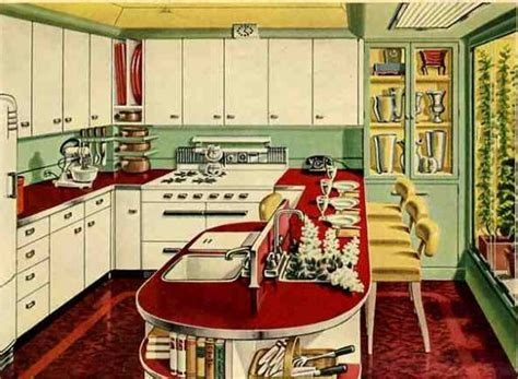 Retro Kitchen Design Vintage Daub Vintage Furniture Part 1 The Vintage Kitchen By Ef