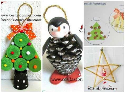 imagenes de manualidades navidenas para ninos decoraci 243 n navide 241 a infantil manualidades