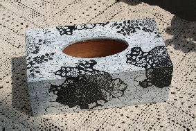 Tissue Decoupage Eropa 18 chustecznik bia蛯o czarny ii kjv s