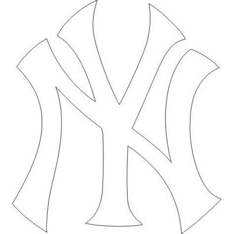 yankees coloring pages printable ny yankees logo google search jax pinterest ny