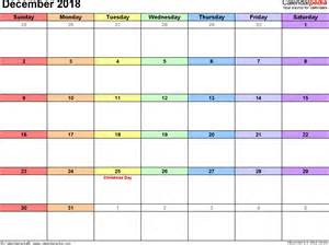 Calendar 2018 Qut December 2018 Calendars For Word Excel Pdf