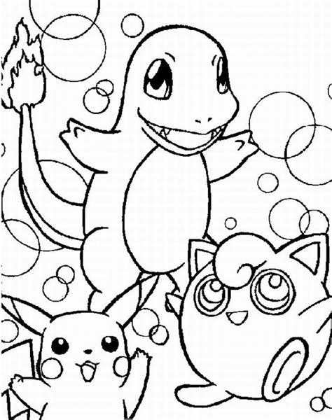 Pokemon Coloring Pages Learn To Coloring Coloring Picture Of A