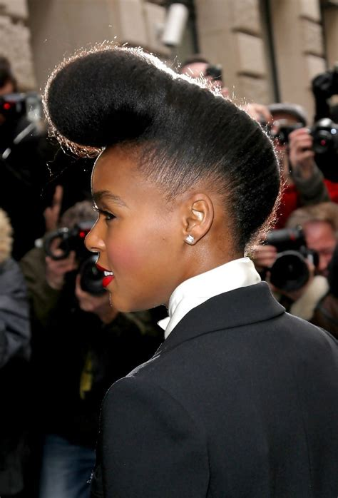 how to do janelle monae hairstyles more pics of janelle monae pompadour 1 of 4 pompadour