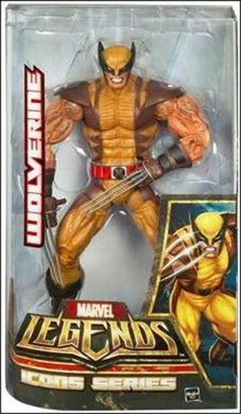 marvel legends wolverine (brown costume), jan 2006 action